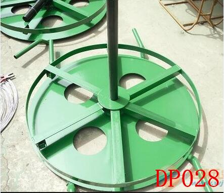 cable drum jacks with rotary disk