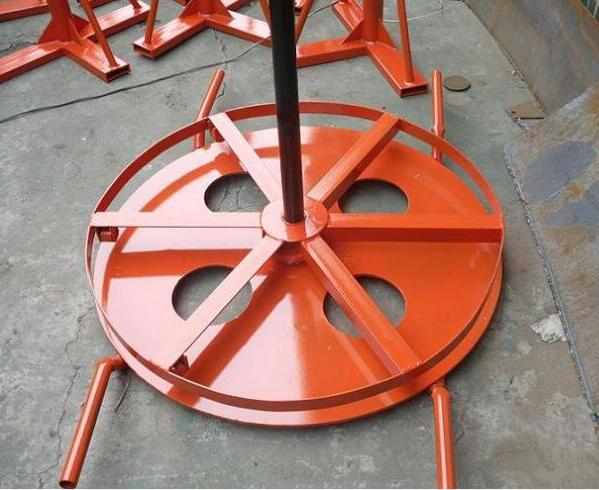 hydraulic lifting cable stand