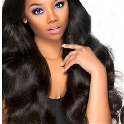Peruvian Human Hair Full Lace Wig Body Wave
