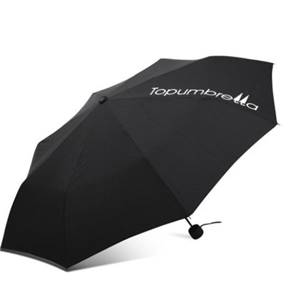 Strong Steel Pure Color 3 Fold Umbrella