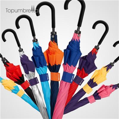 Big Size Double Layer Straight Umbrella
