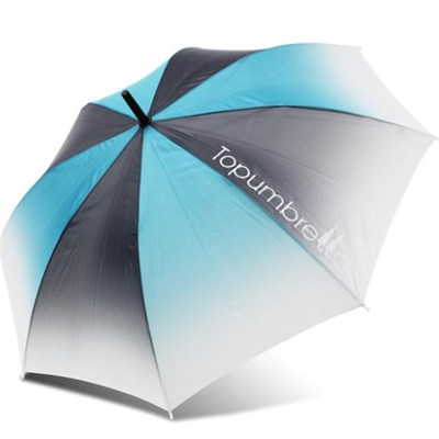 Different Color Changing Auto Open Straight Umbrella