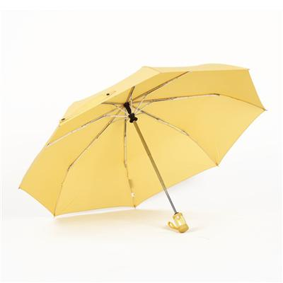 The Yellow 3 Fold Umbrella For Sale
