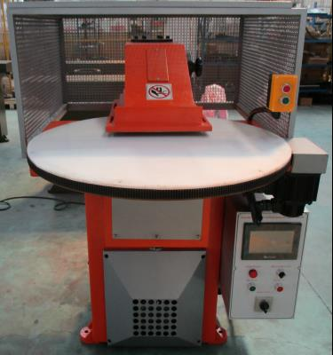 Rotary Table Atom Type Swing Arm Die Cutting Machine