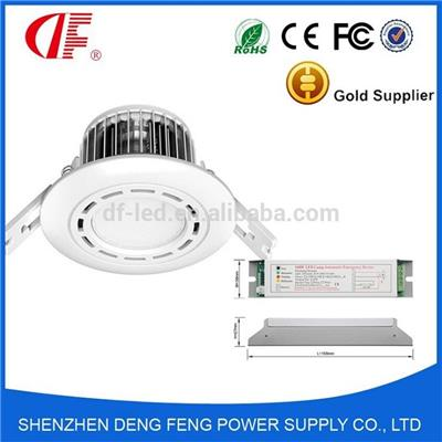 5 Watt 2hours Fire Rated LED IP65 Emergency Downlight