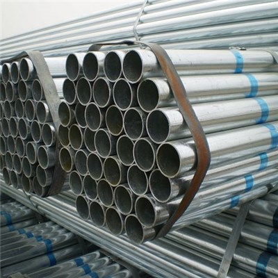 Hot Dipped Galvanized Steel Round Pipe