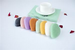 Water-drop Shaped Kongjac Sponge