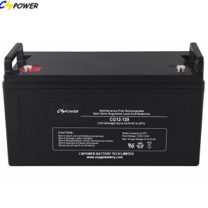 12V120Ah Deep Cycle Gel Battery for solar use