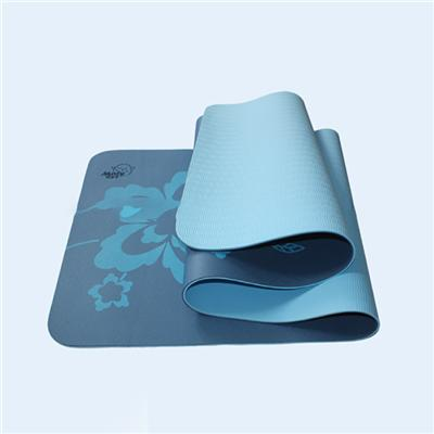 High Quality TPE Yoga Mat Double Size Yoga Exercise Mat