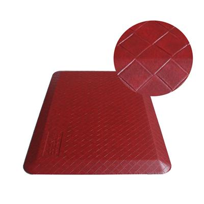 New Life Latest Developing Anti Fatigue Standing Mat Polyurethane Plaid Standing Pad For Commercial Areas