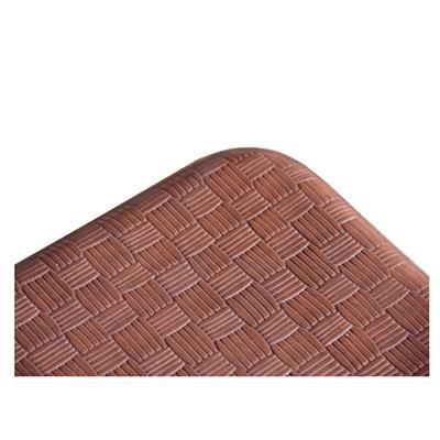 Anti-fatigue Mats For Kitchen Floor ECO-friendly PU Leather Comfort And Breathable Size 20*32 Inch