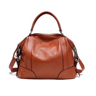 Women's Large Soft Leather Carryall Leather Handbag