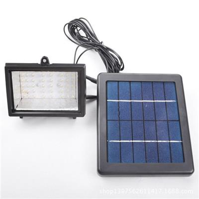 40 LED Solar Flood Light