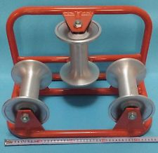 3 drum corner Cable pulley roller block