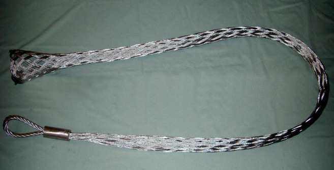 Smooth wire mesh grips & Hoisting grip & Stainless steel cable sock ...