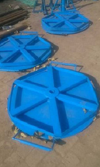 Drum Roller Rails Cable Drum Rotators Coil unwinder / roller