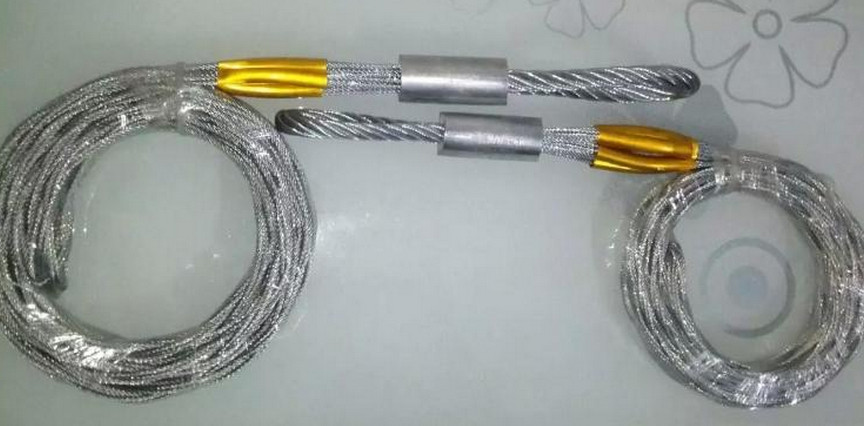 Smooth wire mesh grips & Hoisting grip & Stainless steel cable sock