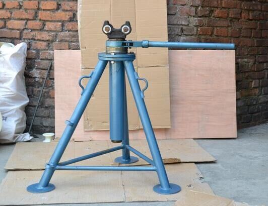 Cable Drum Lifting Trestle Tripod Reel Jacks Cable Drum
