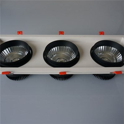 3*30W LED Grille Downlight