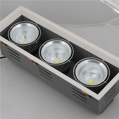3*25W LED Grille Downlight