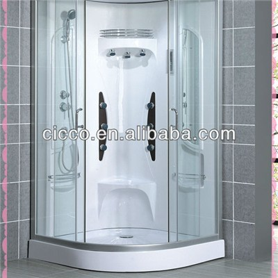 Chrome Finish Shower Rooms