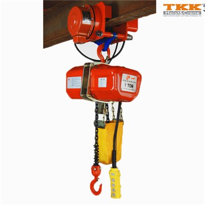 Electric Chain Hoist With Hook Suspension
