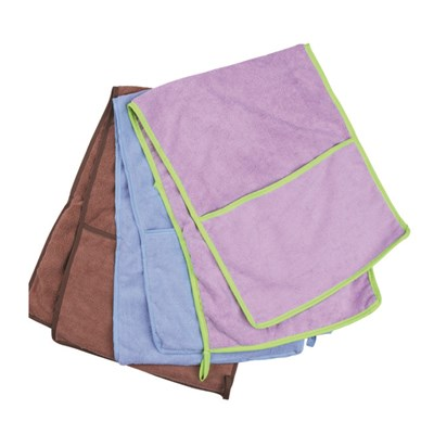 Pet Drying Towel With Conner Packets