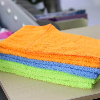 Coral Fleece Microfiber Cloth