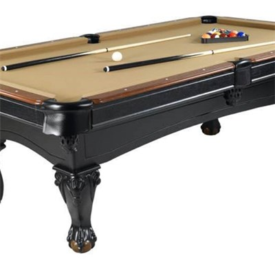 High Standard Beautiful Carved Leg MDF Billiard Table