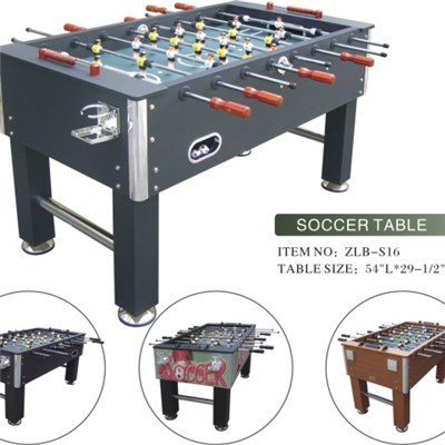 With Variety PVC Laminated Soccer Table