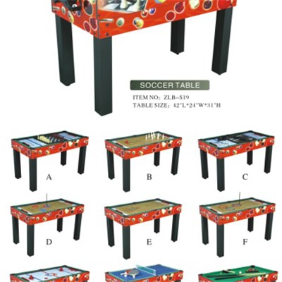 Multi-functional Soccer Table (9 In 1)