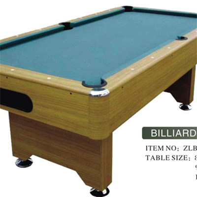 Excellent MDF Billiard Table