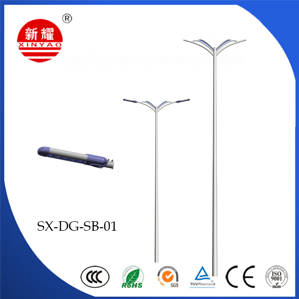 Double Arm Light Pole