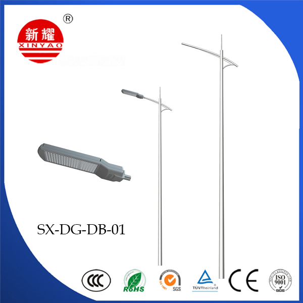Single Arm Light Pole