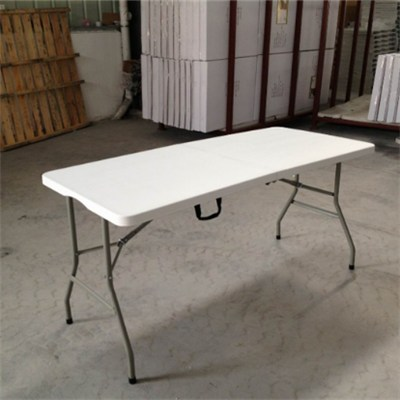 Portable Outdoor Blow Mold HDPE Folding Table