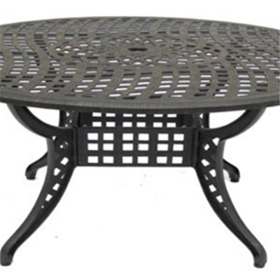 Cast Aluminum Outdoor Round Dining Table