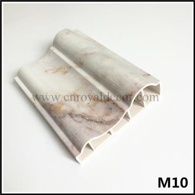 Imitation Marble PVC Construction Frame