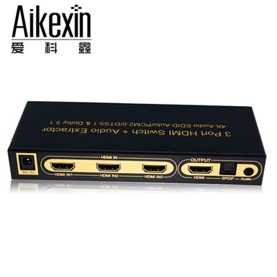 3X1 HDMI Switch 3D Support 1.4V 4KX2K
