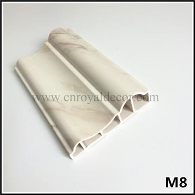 Faux PVC Marble Stone Moulding, Door Granite Moulding