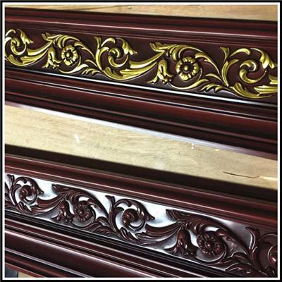 Polyurethane Flower Chair Rail