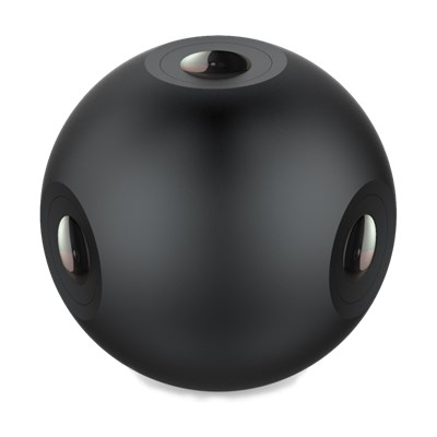 The 4-channel 720 Degree Panorama Spherical VR Camera