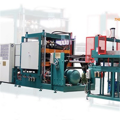 EPS Hydraulic Thermoforming Machine For Disposable Lunch Box