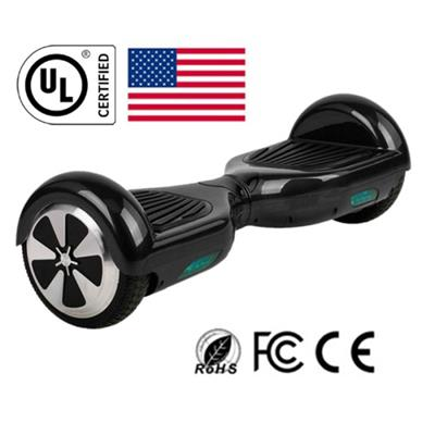 UL2272 6.5'' 2 Wheels hoverboard Scooter Self Balancing Hoverboard Black