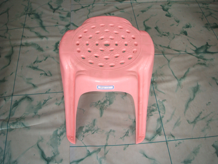 Plastic chairs used moulds