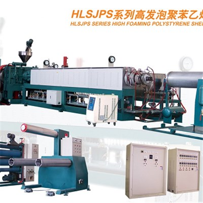 Big Capacity EPS Foam Sheet Extruder For Lunch Box