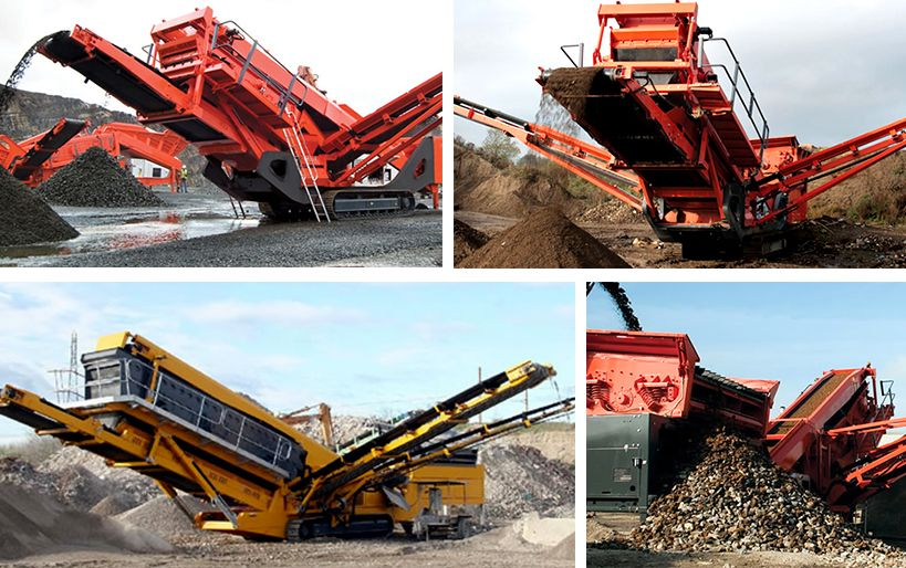 Mobile crusher/Complete Stone Crusher Plants/Mobile Concrete Crusher