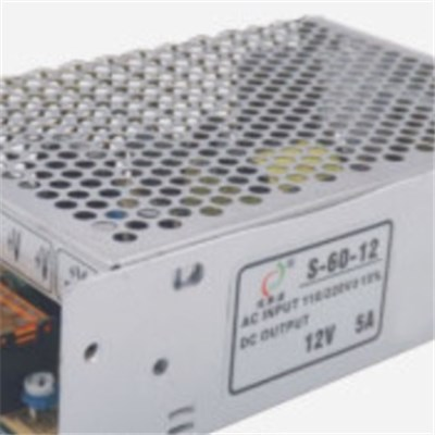 DC12V 5A 60W indoor LED Power Supply