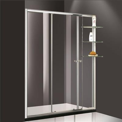 Bathtub shower door