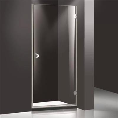 Spindle shower door