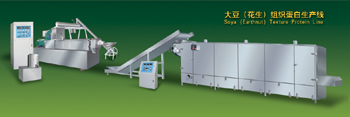Texture soy protein (TSP) food machinery